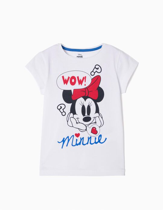 Camiseta Minnie Wow