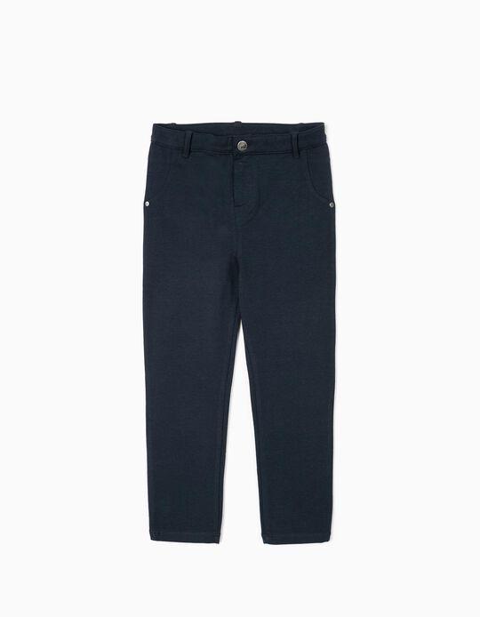 Pantalón para Niña, Azul Oscuro