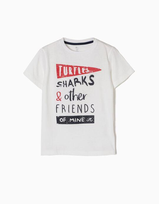Camiseta More Turtle Sharks