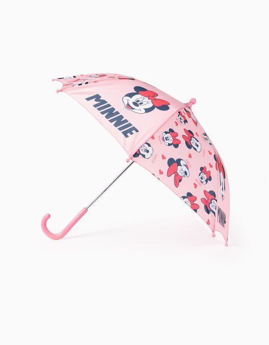 Guarda-Chuva para Bebé Menina 'Minnie', Rosa