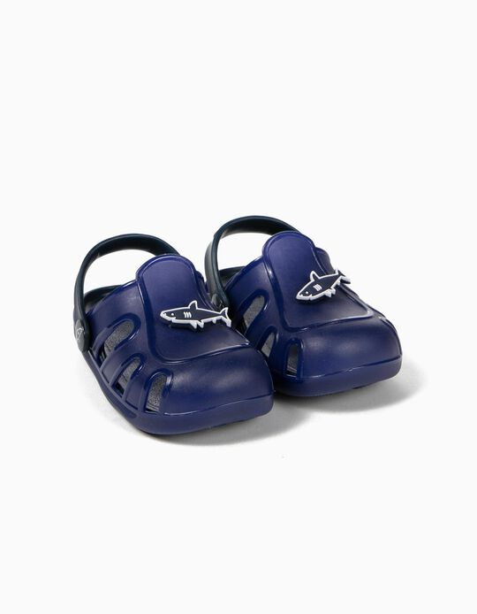 Sandálias para Bebé Menino 'Shark', Azul