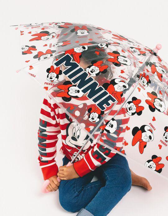 Paraguas para Niña 'Minnie', Transparente