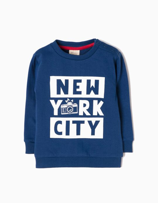 Sweatshirt NYC Azul