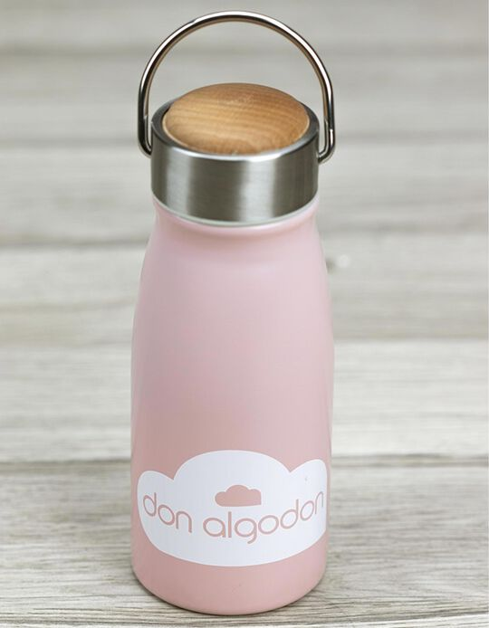 Thermos Flask 350 ML, Don Algodon, Pink