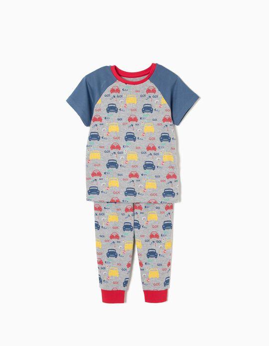 Pijama T-shirt Cars