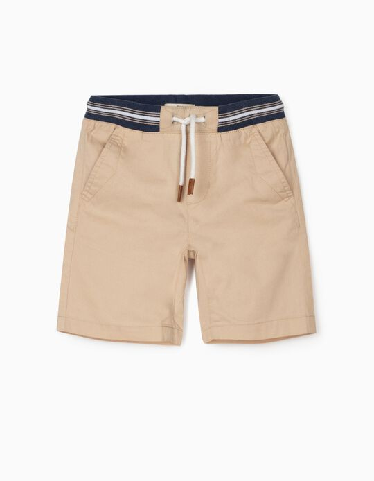 Shorts for Boys, Beige