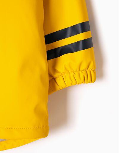 Parka con Capucha Playball Amarilla