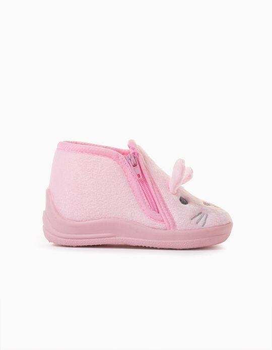 Zapatillas de Casa para Bebé Niña 'Bunny', Rosa