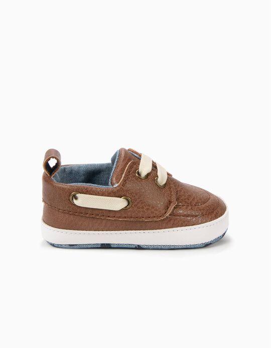 Zapatos Náuticos Pre-Walker Camel