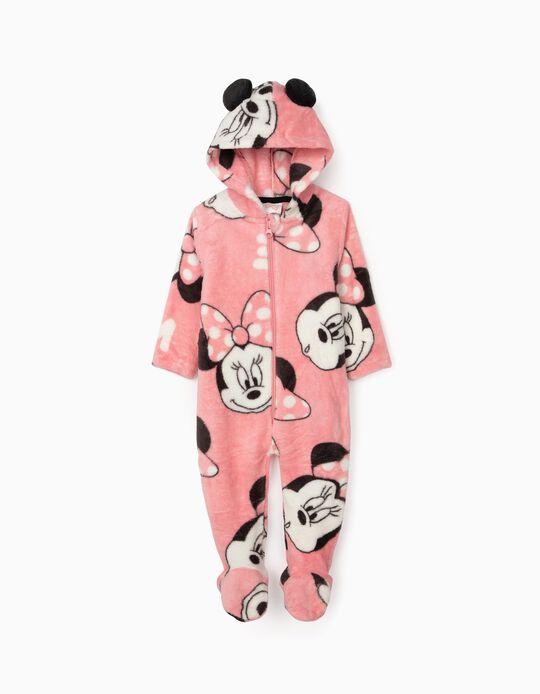 Pelele para Bebé Niña 'Minnie', Rosa