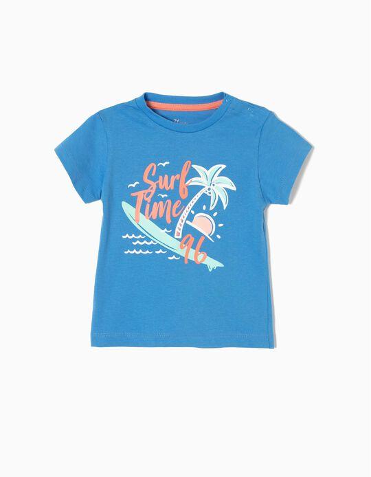 Camiseta Estampada Surf Time