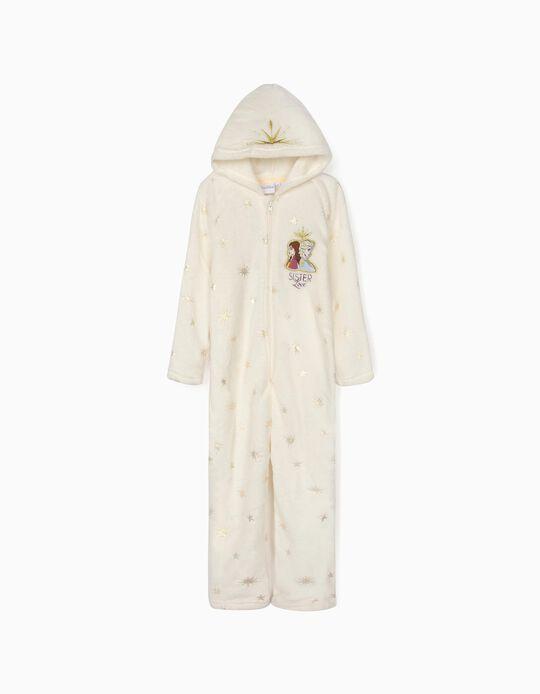 Pijama Mono para Niña 'Frozen II', Blanco