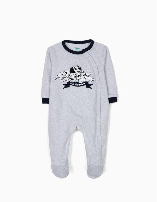 Babygrow Polar 101 Dálmatas Cinza e Azul
