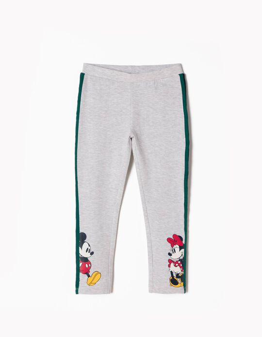 Leggings Mickey & Minnie Grises