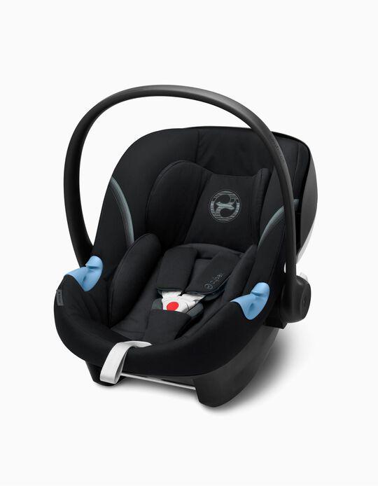 Cadeira Auto I-Size Aton M Cybex Deep Black/Black