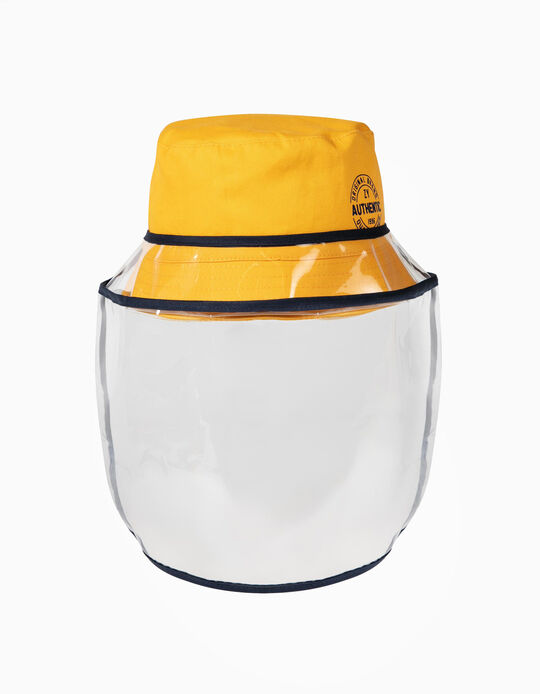 TPU Visor for Children Hats, Transparent