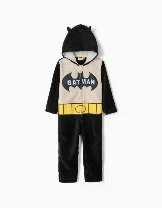 Pijama-Macacão para Menino 'Batman', Preto