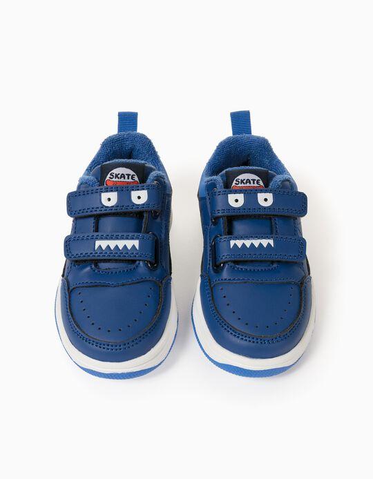 Zapatillas para Bebé Niño 'Skate Fun', Azul
