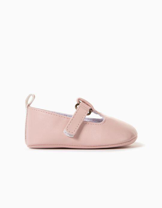 Chaussures Nouveau-née, Rose