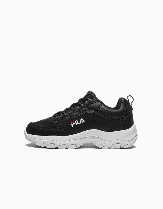 Zapatillas Chunky Infantiles 'Fila Strada', Negro