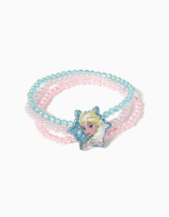 Pulseira Tripla Frozen Elsa