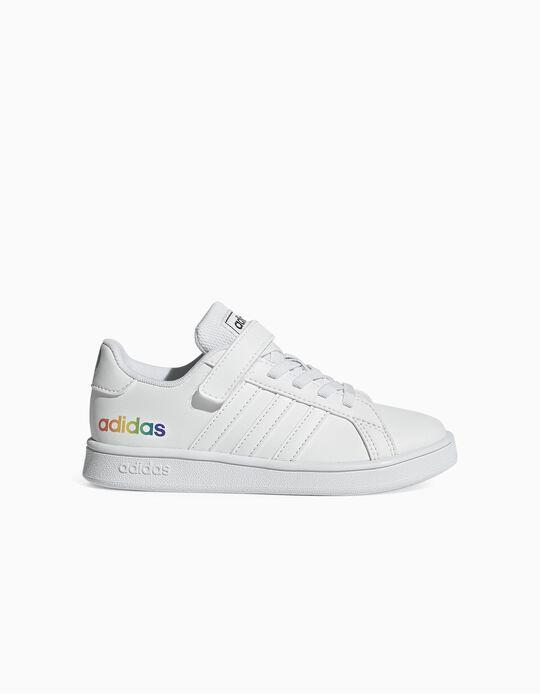 Sapatilhas para Menina 'Adidas Grand Court', Branco