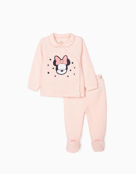 Pijama para Recién Nacida 'Minnie', Rosa
