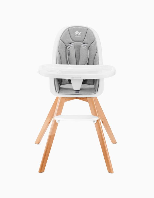 High Chair, Tixi by Kinderkraft, Grey