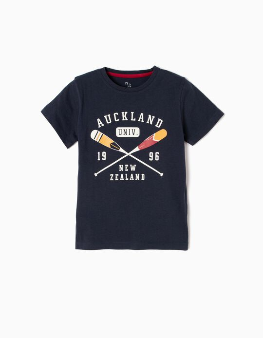 Camiseta Auckland Univ Azul