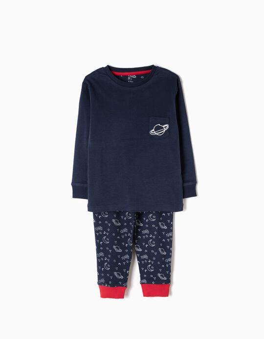 Pijama Manga Comprida e Calças Saturn