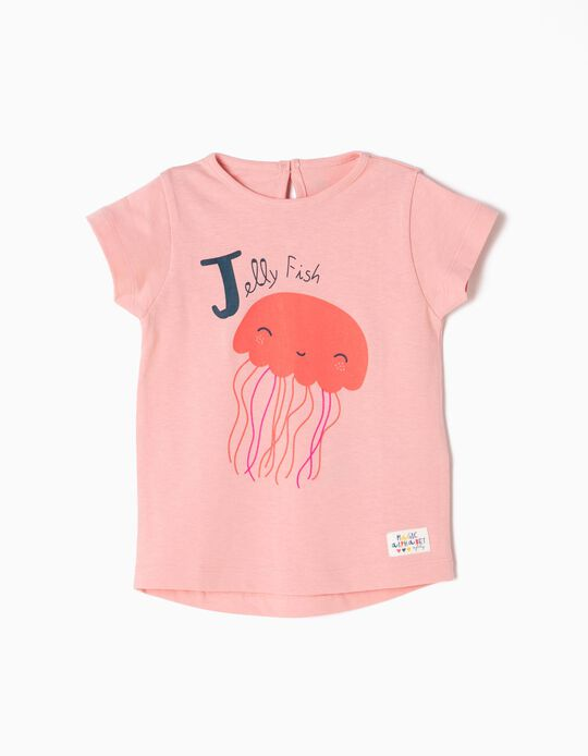 Camiseta Estampada Jellyfish