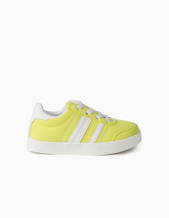 Trainers for Babies 'ZY Retro', Fluorescent Yellow