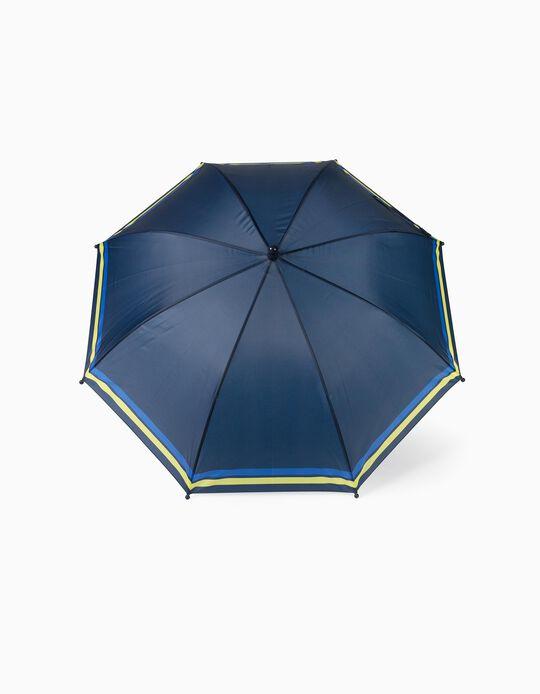 Parapluie garçon 'Stripes', bleu foncé