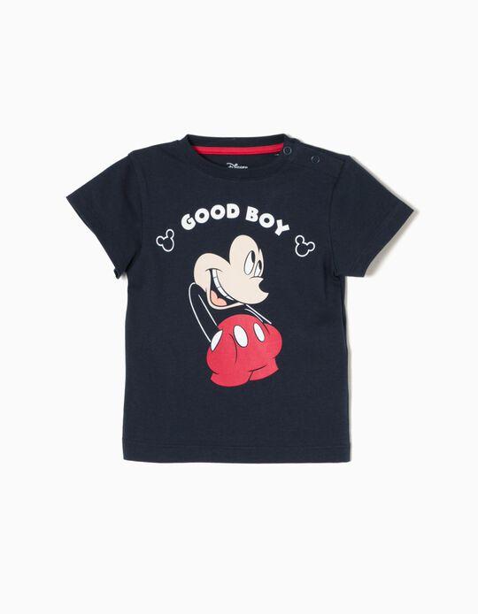 Camiseta Azul Mickey