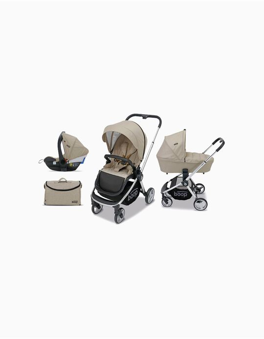 Trio Genius Travel System by Asalvo, Beige