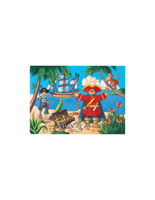 Puzzle Pirata e o Tesouro Djeco