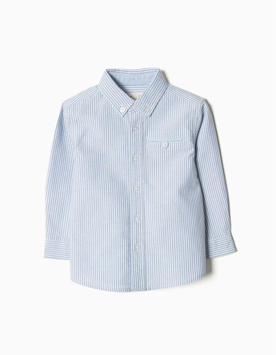 Camisa Oxford Riscas