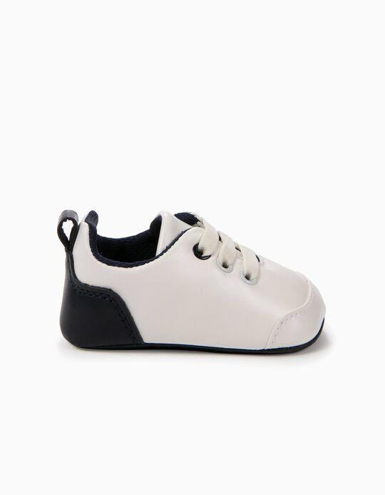 Zapatillas Pre-Walker Blancas y Azules