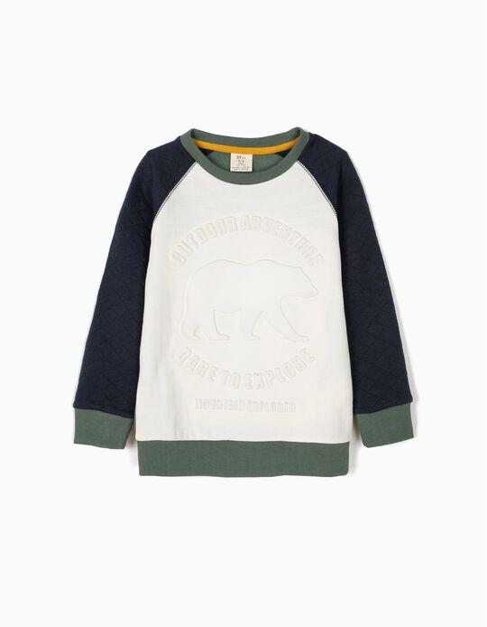 Sweatshirt Outdoor Adventure Tricolor