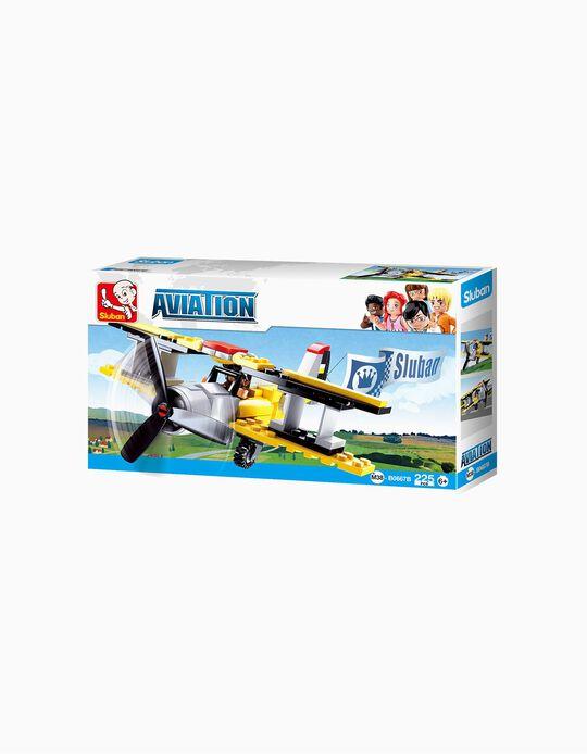 Construção de Avião Sluban 120pçs