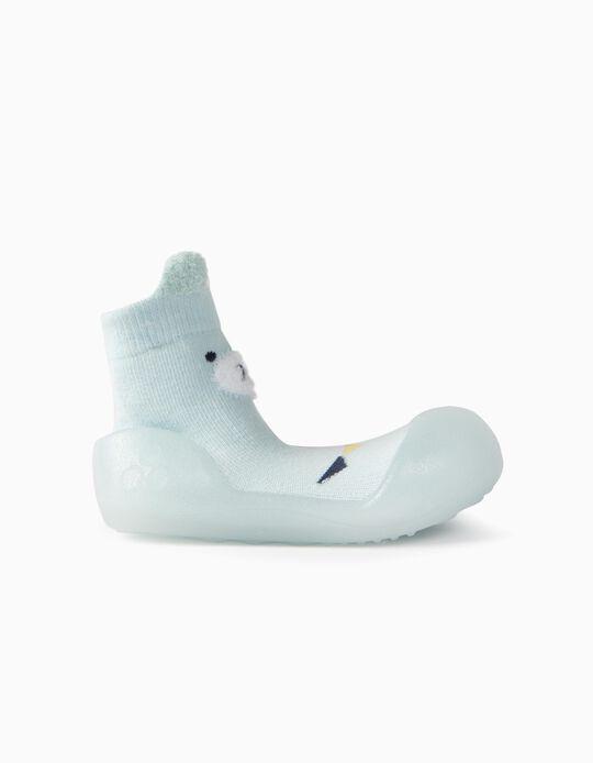 Calcetines con Suela para Bebé 'Steppies', Azul