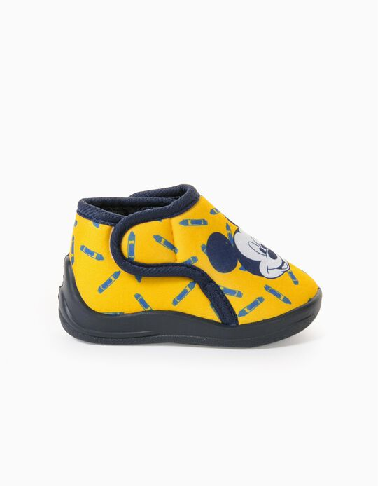 Zapatillas de Casa Bebé Niño 'Mickey', Amarillo
