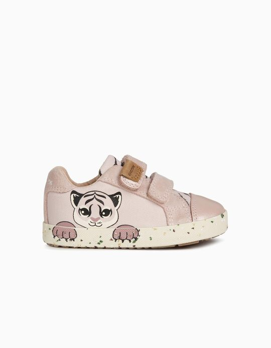 Geox Trainers for Baby Girls, 'Tiger', Pink