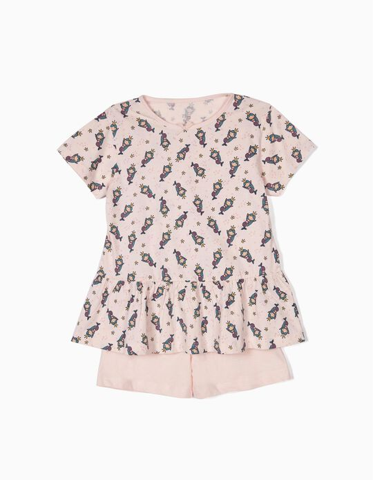 Pijama para Menina 'Mermaids', Rosa
