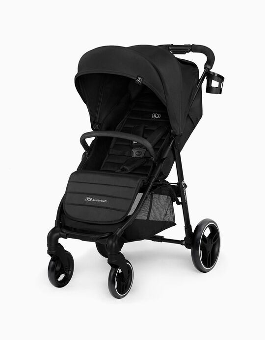 Pushchair, Grande City by Kinderkraft, Black