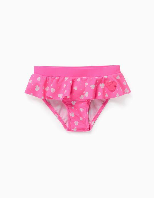 Cuecas de Banho para Bebé Menina 'Minnie', Rosa