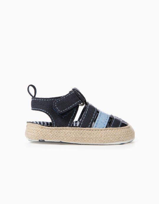 Sandals for Newborn, Blue