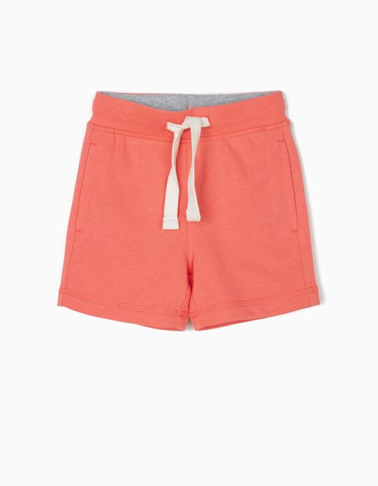 Shorts for Baby Boys, Coral