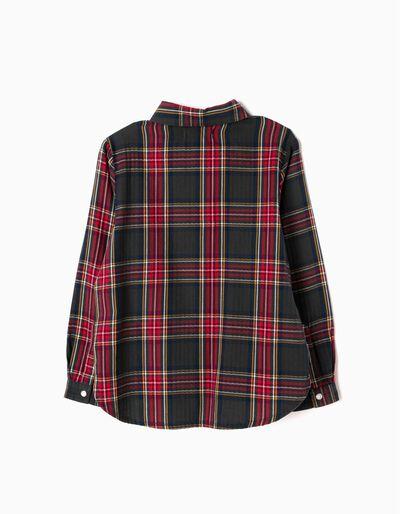 Camisa Manga Larga Ajedrez