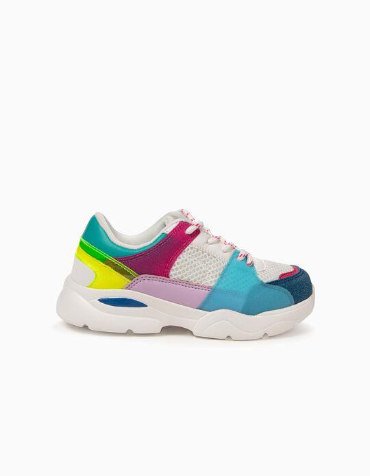 Zapatillas para Niña 'Cool', Blancas